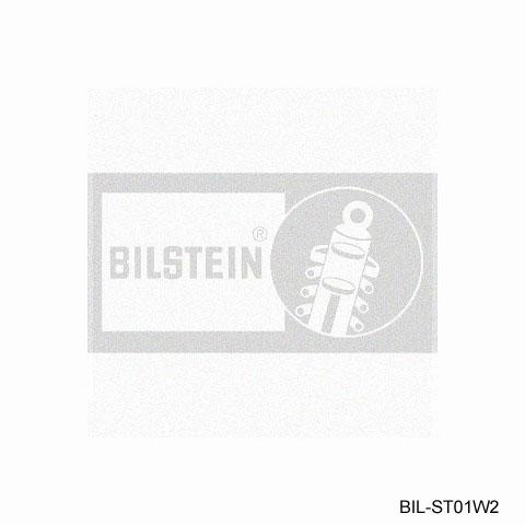 BILSTEIN ビルシュタイン ロゴ転写ステッカー ホワイト