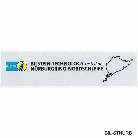 BILSTEIN ビルシュタイン ニュル ステッカー ブラック