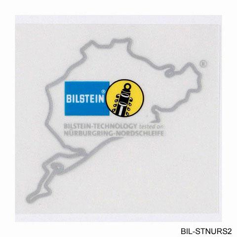BILSTEIN ビルシュタイン ニュル ステッカー2 シルバー